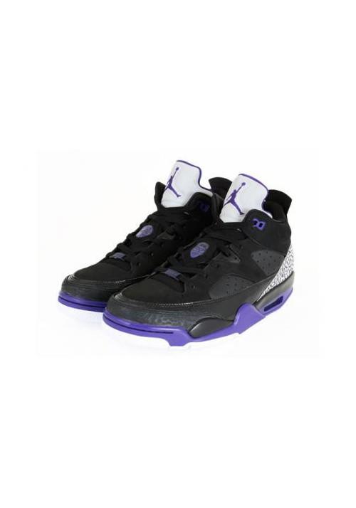 Basket Nike Air Jordan Son Of Mars Low Black Purples 580603-008 Hommes