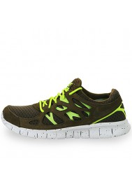 Chaussures Nike Free Run+ 2 EXT (Ref: 555174-337) Hommes Running