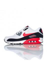 Nike Air 90 Essential Blanche Cuir (Ref : 537384-112) Chaussure Hommes mode 2014