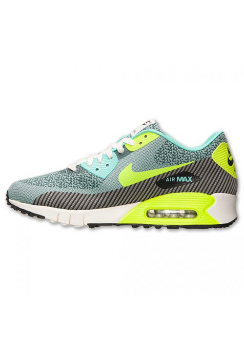 Nike Air Max 90 Jacquard Volt (Ref : 669822-300) Chaussure Hommes mode 2014