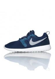Chaussures Hommes Nike Rosherun Hyp Bleu Marine (Ref : 636220-400) Running