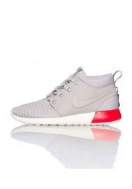 Chaussures Hommes Nike Rosherun Mid Argent (Ref : 615601-009) Running