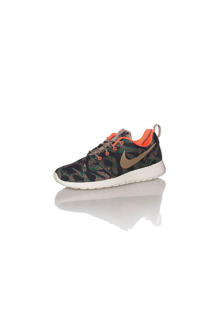 grande vente 4963a 938c0 Chaussures Hommes Nike Rosherun Print Marron (Ref: 655206-203) Running